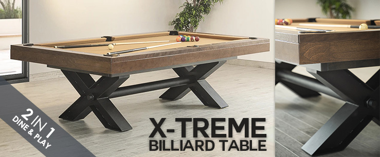 X-Treme Billiard Table