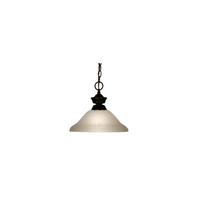 100701BRZ-WL12-White Lace 12'' Pendant Light