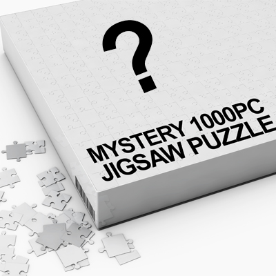 14732 -  MYSTERY 1000PC JIGSAW PUZZLES - HAND SELECTED