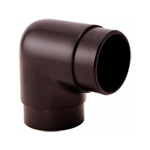 8577 - Foot Rail Elbow Fitting 90 degree - 2'' Powder Coated