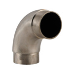 8566 - Foot Rail Elbow Fitting Curved - 2'' Stainless Steel