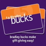 4052 - F.G.Bradley Bucks Gift Card - You Decide Value