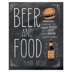 9560 - Beer and Food Hardcover Book