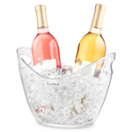 70 - Ice Bucket OXO-Steel with Tongs