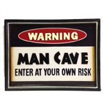 7278 - Man Cave Wooden Sign