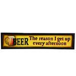 7279 - Beer Afternoon Wooden Sign