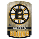 6195 - Boston Bruins Wooden Sign