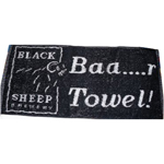 6895 - Bar Towel - Black Sheep