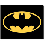 11424 - Batman Logo Tin Sign