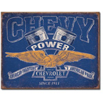 12294 - Chevy Power Tin Sign