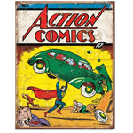 11419 - Action Comics No. 1 Cover Tin Sign