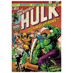 11863 - Incredible Hulk - Marvel Comic #181 - vs Wolverine