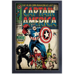 13401 - Marvel Captain America Issue #100 Framed Colour Poster