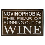 13705 - Wood Sign - Novinophobia