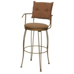 123 - Trica Bill II Swivel Counter / Bar Stool with Arms