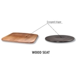 148 - Wooden Seat Upgrade for Trica Stools