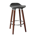 11767 - Worldwide - Trex II 26'' Counter Stool (Grey)