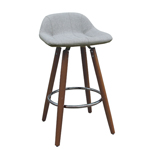 11768 - Worldwide Camaro II 26'' Counter Stool (Grey)