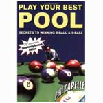 Play Your Best Pool Book by Phil Capelle