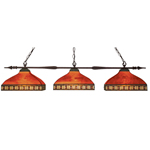 10871 - Aztec Billiard Light Bronze Multi-Coloured