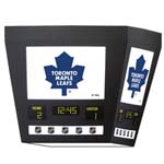 7566 - Square Scoreboard with Light - Toronto Maple Leafs