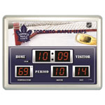 Toronto Maple Leafs Scoreboard Wall Clock
