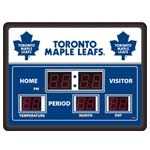 7568 - Digital Clock and Scoreboard - Toronto Maple Leafs