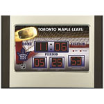 Toronto Maple Leafs Scoreboard Desktop Digital Alarm Clock