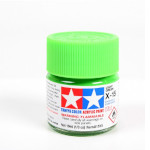 15039 - Tamiya Light Green Gloss Model Paint (Acrylic Mini X-15 nr. 81515)
