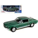 14275 -  1967 Ford Mustang GTA Fastback, 1/18 Scale (various colors)