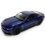 14270 - 2015 Ford Mustang GT, Blue Die Cast