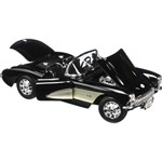 14272 - 1957 Chevrolet Corvette Black -1/18 Diecast