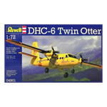 14135 - Revell Canada DHC-6 Twin Otter Rescue Plane 1/72 Scale Model