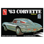 15082 - AMT 1963 Chevy Corvette 1:25 Scale Model Kit (AMT861)
