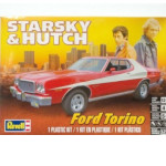 15077 - Revell Starsky and Hutch Ford Torino 1:25 Scale Model Kit (85-4023)