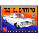15073 - AMT 1959 Chevy El Camino (Original Art Series) 1:25 Scale Model Kit (AMT1058)