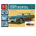 15084 - AMT 1965 Lincoln Continental 1:25 Scale Model Kit (AMT1081)