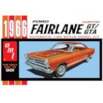 15078 - AMT 1966 Ford Fairlane GT/GTA 1:25 Scale Model Kit (AMT1091)