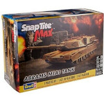 15075 - Revell Abrams M1A1 Tank SnapTite Max 1:35 Scale Model Kit (1230)