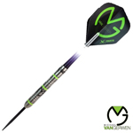 10933 - MvG 70% Tungsten Green Demolisher Darts