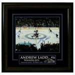 7408 - Andrew Ladd Signed Winnipeg Jets Inaugural Face Off