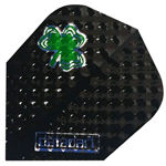 12896 - Dimplex - Black with Green Clover