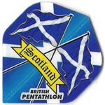9248 - British Pentathlon Flights - Scottish Flags Standard