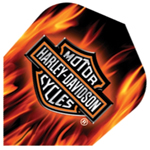 9033 - Harley-Davidson® Flights - Logo With Flames