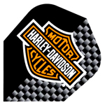 9029 - Harley-Davidson® Flights - Logo - Black and Silver