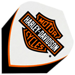 9030 - Harley-Davidson® Flights - White Logo Clear