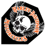 9036 - Harley-Davidson® Flights - Skull With Wings