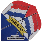 13004 - British Pentathlon Flights - Nederland Flags