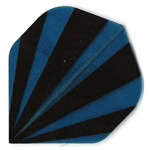 13238 - Polyester Flights - Blue and Black Stripes
