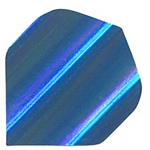 12817 - Polyester Foil Flights - Blue